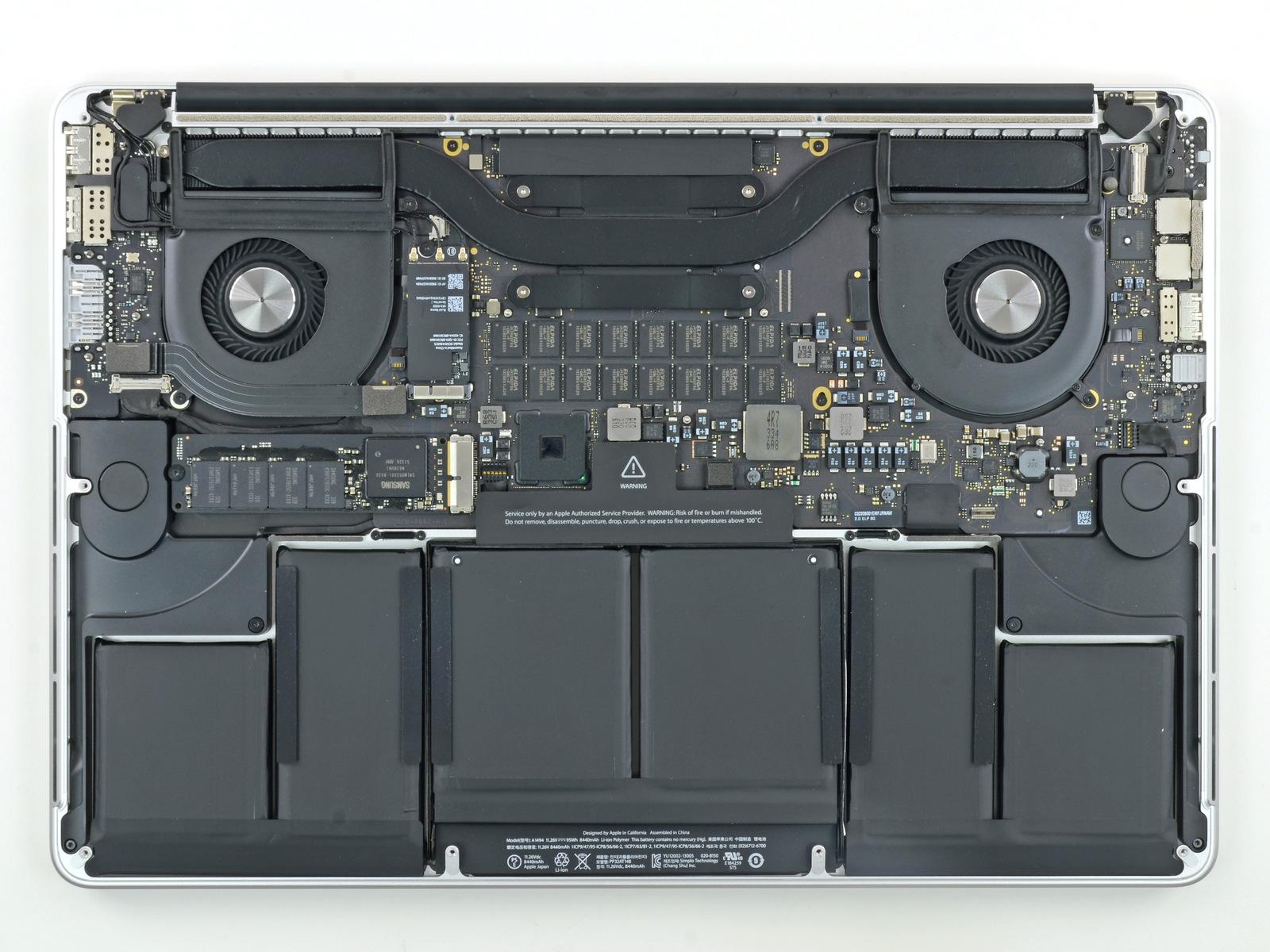 Cambio de bateria Apple Macbook Pro
